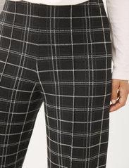 Part Two - IlisanPW PA - bukser med brede ben - black check - 5