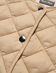 Part Two - HellenPW OTW - puffer vests - irish cream - 2