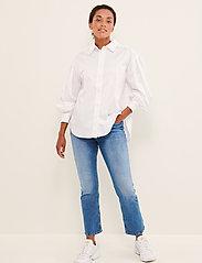 Part Two - GyaPW SH - denimskjorter - bright white - 3