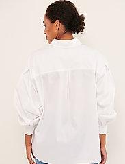 Part Two - GyaPW SH - denimskjorter - bright white - 4