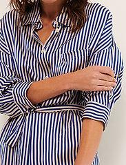Part Two - GroPW DR - alledaagse jurken - stripe, deep ultramarine - 0