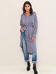 Part Two - GroPW DR - alledaagse jurken - stripe, deep ultramarine - 3