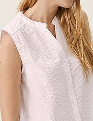 Part Two - IgrenePW SH - denimskjorter - bright white - 5