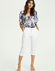 Part Two - SoffiePW PA - pantalons capri - bright white - 3