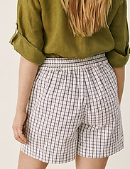 Part Two - IwonaPW SHO - casual shorts - gray blue check - 5