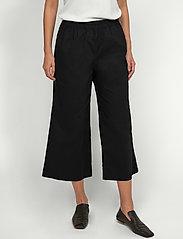 Part Two - IrjaPW PA - bukser med brede ben - black - 0