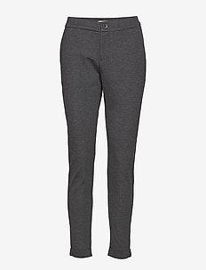 MIGHTYPW 110 - pantalons droits - dark grey melange