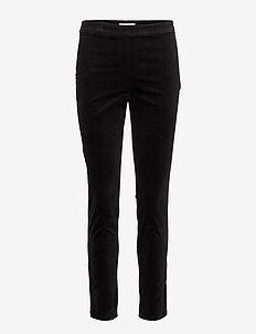 Janrietta LG - pantalons droits - black