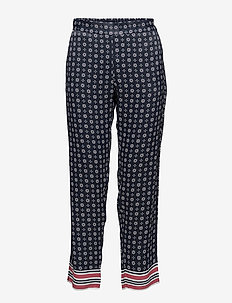Kenzie PA - pantalons casual - artwork dark blue