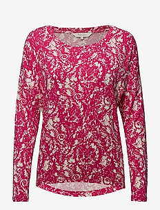 Blasia TS - hauts à manches longues - artwork dark pink