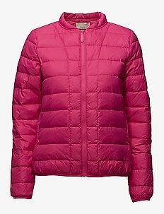 Downie OTW - doudounes - pink yarrow