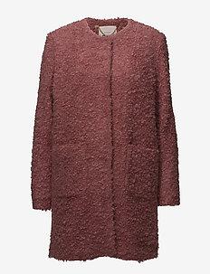 Maja OTW - manteaux de laine - mauvewood