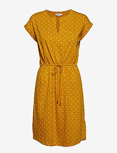 MabelPW DR - DOT PRINT GOLDEN YELLOW.
