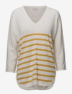Hidoo PU - swetry - artwork medium yellow