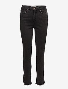 Manon I JE - slim jeans - washed black denim