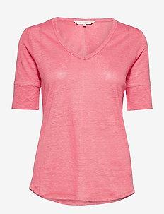 CurlyPW TS - t-shirts - desert rose