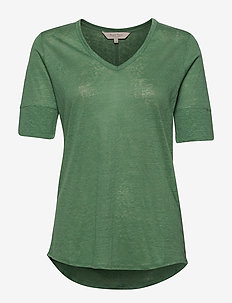 Curly TS - basic t-shirts - frosty spruce