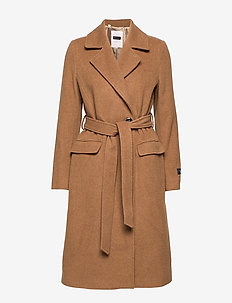 SoniaPT OTW - wool coats - tobacco brown