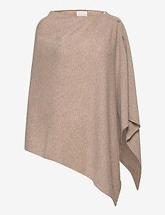RiannaPW PO - ponchos en capes - light camel melange