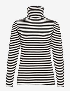 Taeko TS - t-shirts à rayures - striped jersey, dark blue.