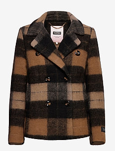MandalaPT OTW - wool jackets - big brown check