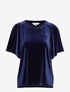 VandaPW BL - t-shirts - medieval blue