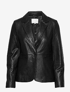 VegaPW JA - vestes en cuir - black