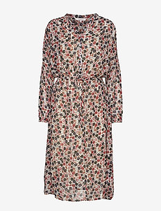 KesenaPT DR - robes midi - multiflower print, dark.