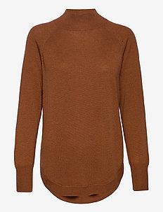 TauraPW PU - trøjer - hazel brown melange