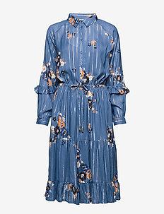 Adele DR - BOQUET FLOWER PRINT, BLUE HORI