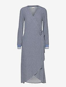 Berbel DR - kietaisumekot - geometric print, blue