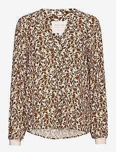 TonniePW BL - blouses à manches longues - fragile flowerprint, lion