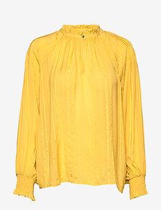 Bitt BL - pitkähihaiset puserot - ceylon yellow