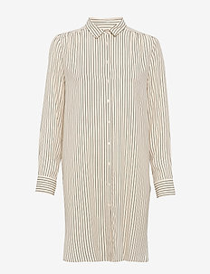 Bebiane TU - tunikaer - y/d stripe, off white.