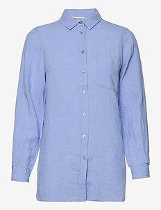 KivaPW SH - overhemden met lange mouwen - vista blue