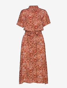 CarmaPW DR - shirt dresses - wallpaper print, chili