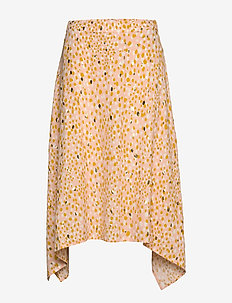 CarlaPW SK - GOLD DOT PRINT, CREAM TAN
