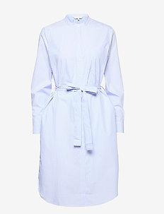 Lulu dress DR - Y/D STRIPE, CHAMBREY BLUE