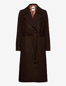 EjaPW OTW - manteaux en laine - chocolate glaze