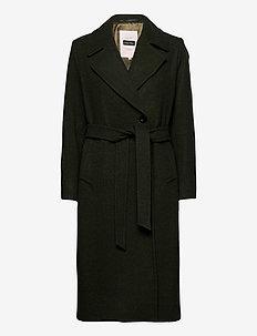 EjaPW OTW - manteaux en laine - olive wool