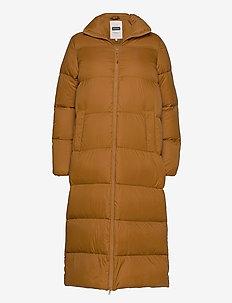 EdlaPW OTW - manteaux d'hiver - bronze brown