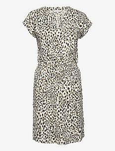 MabelPW DR - short dresses - dot print, eggnog