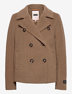 MandalaPW OTW - wool jackets - sandy wool