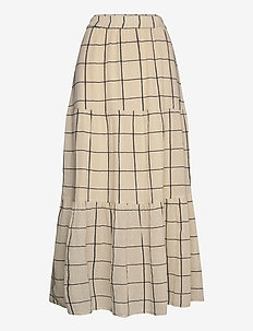 DiaPW SK - maxi skirts - check, off