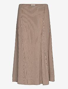 DilaniPW SK - midi - stripe, brown