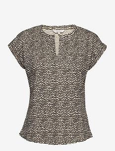 KeditaPW TS - t-shirts - mini ikat print, black