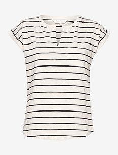 KeditaPW TS - t-shirts - stripe, navy