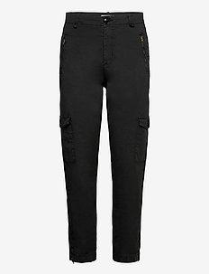SevenPW PA - pantalons droits - black