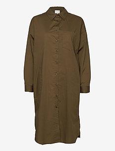 EdilPW DR - robes chemises - beech