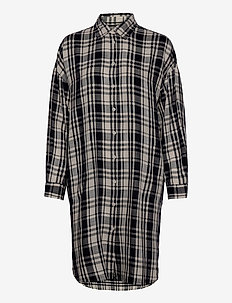 ElidaPW DR - robes chemises - check, night sky